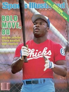 1986  upnorthtrips:    BACK IN THE DAY |6/21/86| Bo Jackson signed a three-year contract to play baseball with the Royals.