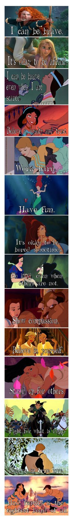 These are the Lessons I learned from Disney Cartoons