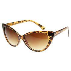 3c3246ef94a MLC Eyewear  Emily  Cat eye Fashion Sunglasses in Leopard