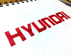 "Check out new work on my @Behance portfolio: ""HYUNDAI Logo Calligraphy"" http://be.net/gallery/43773075/HYUNDAI-Logo-Calligraphy"