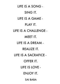 Quotes about Happiness : LIFE via ENJOYITblog.com