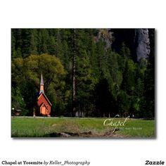 Chapel at Yosemite Postcard