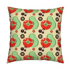 Shop unique pillows, tea towels, cloth napkins, and more designed by independent artists from around the world. Small Curtains, Throw Cushions, Kitchen Curtains, Custom Fabric, Spoonflower, Colours, Wallpaper, Design, Home Decor