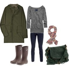 Another Texas outfit (minus the coat).