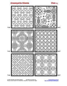 annadrianna — «Ensamplario Atlantio: Being a Collection of Filling Patterns Suitable for Blackwork Embroidery» на Яндекс.Фотках