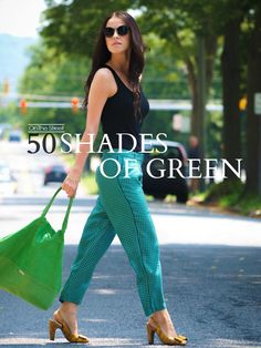 50 Shades Of Green ( Sunglasses & Tanks )