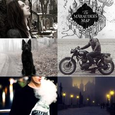 """The Marauders Aesthetics: 2/4 Sirius """"Padfoot"""" Black. """"I solemnly swear that I am up to no good"""""""
