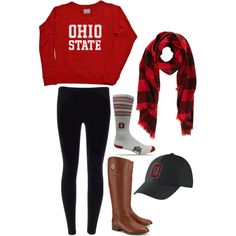 Look - 5 ways to wear your college gear College Outfits, College Fashion, College Style, Fall Outfits, Casual Outfits, Cute Outfits, Fashion Outfits, Outfit Winter, Football Outfits