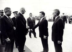 Inauguration par le Général De Gaulle