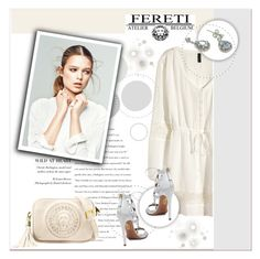 """""""FERETI"""" by janee-oss ❤ liked on Polyvore featuring H&M and Aquazzura"""