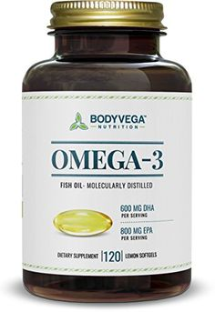 Omega 3 Fish Oil, 120 Lemon Softgels, High EPA - http://freebiefresh.com/omega-3-fish-oil-120-lemon-review/