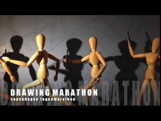 DRAWINGMARATHON Copenhagen Tegnemarathon