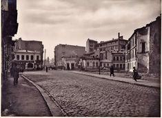 Strada Brezoianu văzută spre intersecția cu Strada Domniţa Anastasia © Arhiva Muzeului Municipiului Bucuresti
