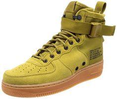 2ce9b4735e179 Nike Men s Sf Air Force 1 Mid Gymnastics Shoes  Amazon.co.uk  Shoes   Bags