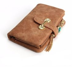 Cheap wallet women short, Buy Quality designer women wallet directly from China fashion women wallets Suppliers: Hot! 2018 New Fashion Women Wallets Drawstring Nubuck Leather Zipper Wallet Women's Short Design Purse Retro Tassels Clutch Coin Bag, Womens Purses, Wallets For Women, Leather Wallet, Pu Leather, Retro, Ootd, Fashion Women, Women's Fashion