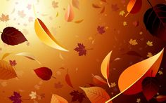 Wallpapers wallpaper autumn vector drawn pictures