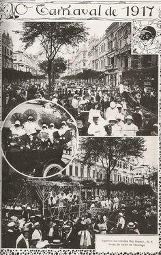 Capa da Revista Fon Fon. Carnaval de 1917.