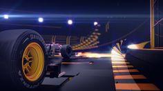 Formula1 Antena3 on Behance