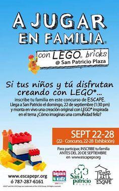 A Jugar en Familia con Lego Bricks @ San Patricio Plaza, Guaynabo #sondeaquipr #ajugarenfamilia #lego #sanpatricioplaza #guaynabo