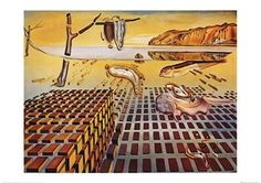 The Disintegration of the Persistence of Memory, Poster Print by Salvador Dali x - Item # Framed Art Prints, Fine Art Prints, Poster Prints, Eduardo Kingman, Salvador Dali Kunst, New Art, Memories, Amazon, Shopping
