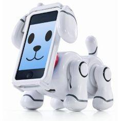 このスマートペットがすごいのは、iPhone/iPod touchの機能を生かした様々なコミュニケーションをとることができるということ。たとえば顔をタッチすると表情が変わったり、名前を呼ぶと音声を認識してかけよってきたり...うわー考えただけでかわいいぞこれ!