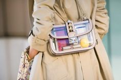 Transparent bag by Valentino