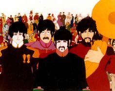 Edelmann 03 ¿Quién diseñó los personajes de los Beatles en Yellow Submarine?