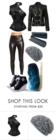 """""""You don't know me"""" by buttercupz on Polyvore featuring Balmain"""