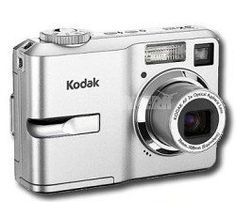 """Kodak Easyshare C633 Digital Camera by Kodak. $290.00. Kodak C633 6.1MP Digital Camera: Point & Shoot Digital Camera Compatible with Secure Digital Memory Card. 6.1MP for Clear Cropping and Printing up to 11x17"""". 2.4"""" LCD Screen Features Slide-Show, Single Image Playback, Thumbnail Image Playback, Indoor/Outdoor Color to Enrich the Screen. 3x Optical Zoom for Snapshots and Vacation Photos; 5x Digital Zoom for Minor Cropping. 13 Scene Modes ; Still Shot Modes: P..."""