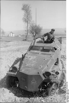 Sd.Kfz. 253, Stug.Brigade 191, Bulgaria, April 1941