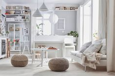 IKEA Catalog 2021   A Handbook For A Better Everyday Life at Home — THE NORDROOM Selling Furniture, New Furniture, Empty Wall Spaces, Small Spaces, Small Rooms, Small Apartments, Design Ikea, Wall Design, Love Seat
