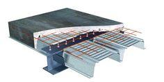 Steel Beam Composite Slab Cross Section Detail