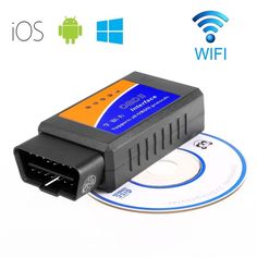 Car WIFI OBD 2 OBD2 OBDII Scan Tool Scanner Adapter Check Engine Diagnostic Tool for iOS & Android