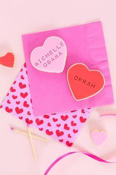 Influential Women Galentine's Day Cookies Valentines Day Date, Valentines Day Treats, Be My Valentine, Valentine Gifts, Event Themes, Party Themes, Party Ideas, Happy Galentines Day, Decoration