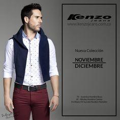 Nuestro recomendado del día, un #look lleno de estilo, te hará ver juvenil, casual y fresco. #KenzoJeans www.kenzojeans.com.co