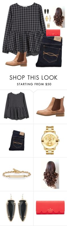 """""""3rd snow day tomorrow."""" by oh-so-rachel ❤ liked on Polyvore featuring MANGO, Sixtyseven, Abercrombie & Fitch, Movado, Hoorsenbuhs, Kendra Scott, Kate Spade, Yves Saint Laurent, women's clothing and women's fashion"""