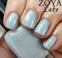Zoya Lake Nail Polish // Whispers Collection 2016