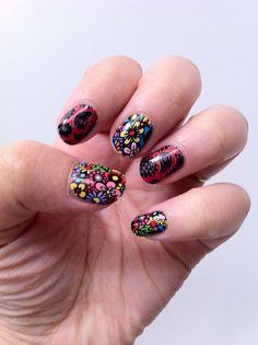 Ultra Cool Minx Nail art