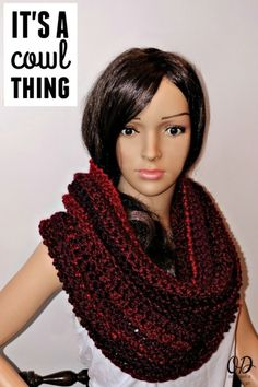 Free Crochet Pattern It's A Cowl Thing by Oombawka Design