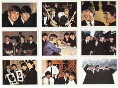 Topps Beatles Trading Cards - 1964/1965