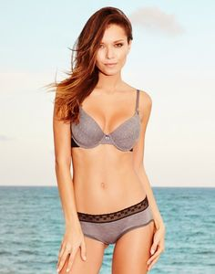 Ebere Gray Demi Bra - A beautiful classic made for everyday wear! #AdoreMeSpringFling http://adore.me/SpringFlingPin