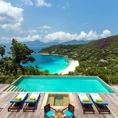 Can't beat this view from Four Seasons #Seychelles.