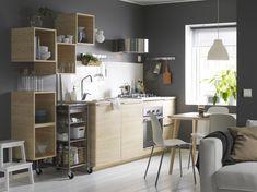 METOD / ASKERSUND keuken | IKEA IKEAnl IKEAnederland interieur wooninterieur inspiratie wooninspiratie hout houtlook opberger opbergen kast keukenkast kasten keukenkasten koken eten diner