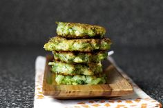 broccoli parmesan fritters ▲ smitten kitchen