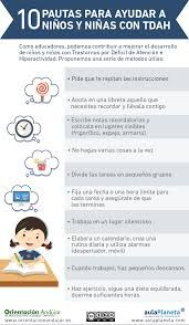 Pautas para ayudar a los niños con TDAH