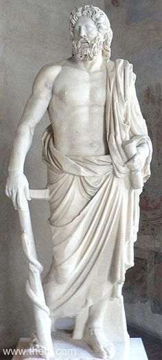 ASKLEPIOS  Museum Collection: Palazzo Altemps, Museo Nazionale Romano, Rome…