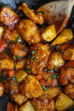 Paleo & Low FODMAP Sweet and Sour Chicken | www.asaucykitchen.com
