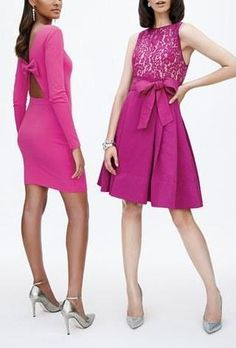 Pink, Party Dresses