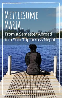 """I met Maria first in spring 2016. There she was planning on studying abroad in New Zealand for a while. But in the end her trip went much further than just to """"down under"""". What started as a semester abroad ended up as solo trip across Nepal. Right between colorful fabrics, snow-capped peaks of the Himalayas and great self-awareness."""