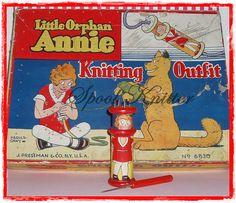 Little Orphan Annie    Little Orphan Annie made by J. Pressman & Co. 1930's.